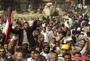 egyptian peasants against the constitution of the brotherhood, which is taking their rights
