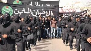 Muslim brotherhood milishia in Egypt