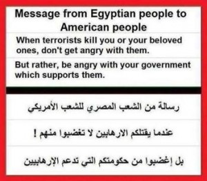 a-message-from-egyptians to americans poeple