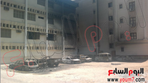 Brotherhood burned vital buildings and private cars in Egypt 16aug2013