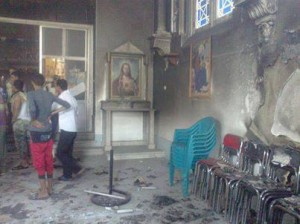 Brotherhood damaged and attacked churches in Egypt