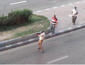 Brotherhood shooting at civilians in Zamalek