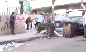 Brotherhood snippers kill shoty Egyptians in the head (2)