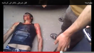 Brotherhood videos and images of torturing police soldier