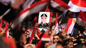 Egyptians support Sisi minister of defense