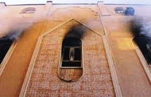 Muslim Brotherhood Burning Churches in Egypt