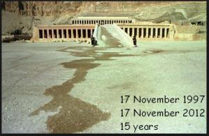 The massacre of Luxor Egypt 1997 Luxor Temple