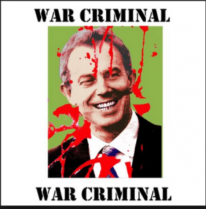Tony Blair war criminal