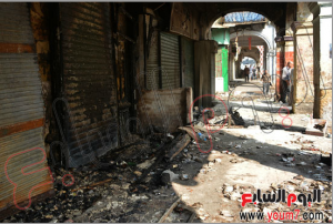 brotherhood and the burned land project against Egyptian civilians 16 august 2013