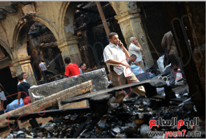 egyptian poor civilinas got their homes burned by muslim brotherhood 16 august 2013