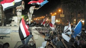 egyptians are one hand with their military