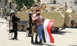 egyptians love their military