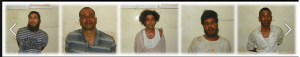25 August 2013 Military arrested Islamist Extremist and terrorists 5 members in North Sinai in Sheikh Zowaid City during attacking Military individuals accused of killing and terror acts