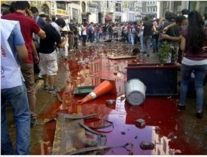 4 June 2013 second fatality thousands injured a police try to curb turkey protests