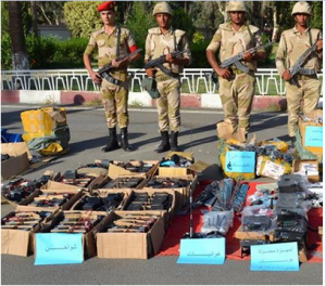 Egyptian military intensive efforts in fighting terrorism