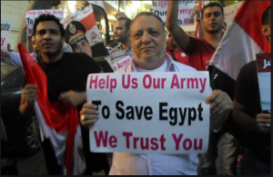 Egyptians are proud of their Military