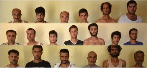 Militart arrested 19 terrorists and armed criminals in North Sinai participated and involved in killing Military individuals and attacking with heavy arms and weapons military establishments (including those 19, there are 7 Palestinians one of them is a sniper)