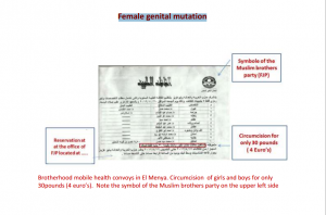 Muslim Brotherhood Political party calls and did Female genital mutation