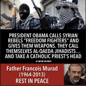 Obama calls Syrian Rebels Freedom Fighters