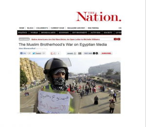 The Muslim Brotherhood War on Egyptian Media
