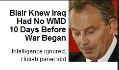 Tony Blair is a War Criminal