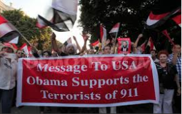 egyptians do not welcome obama supporter of terrorism in egypt