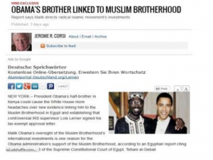 obama brother linked to muslim brotherhood