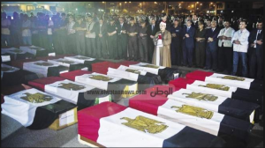16 Egyptian Soldiers got killed by Hamas and Qassam Groups on sinai Rafah Borders 2012