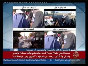 Aljazeera spreading fake news about brotherhood demonstrations in Egypt
