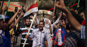 Brotherhood supporters violence against the Egyptian Community