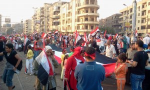 Egyptians celbrate 6 october 2013