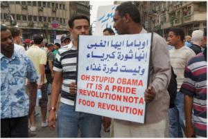 Egyptians don't want US Aid