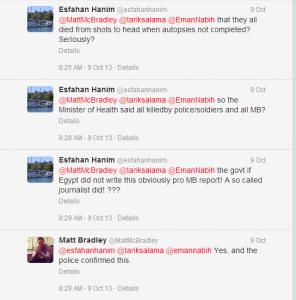 Matt MC Bradley Middle East Correspondent