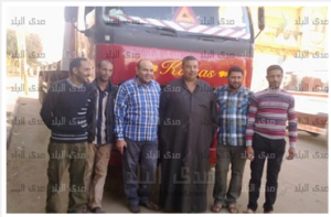 Egyptian Truck drivers were kidnapped and held hostages by Muslim Brotherhood Militia in Libya