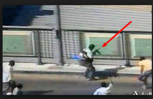 Supporters of Brotherhood shoot in the streets of Cairo at civilians
