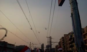 military planes celebration show