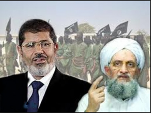 mohamed morsi ties and relations with alqaeda terrorists organiztion