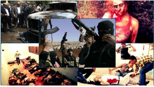 Muslim Brotherhood and Alqaeda terror attacks against police and military forces after 30 June 2011