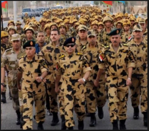 Egyptian Military and General Al-Sisi Egypt Heroes