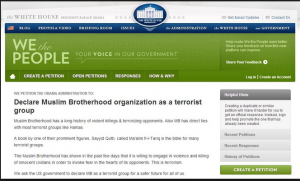 Muslim Brotherhood is a terrorist group