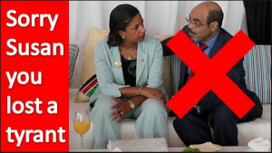 Susan Rice supported African Dictators who committed crimes against humanity and she talks about human rights