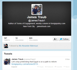 james traub on twitter
