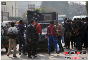 Muslim Brotherhood students of Ain Shams University attacked a police car and tried to release prisoners