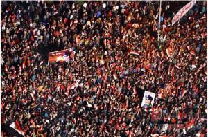 Tahrir square Egypt 25 jan 2014 egyptians defy terrorism