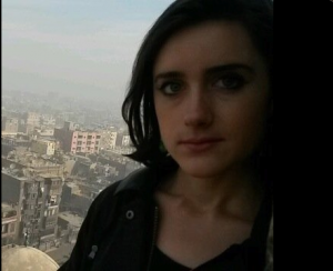 Louisa Loveluck British freelance lousy and a liar journalist writing for the Telegraph and Global Post based in Cairo