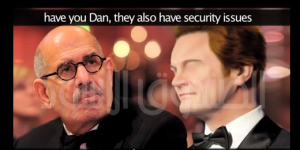 Mohamed Albaradei leaked call recordings with a senior official of the CIA