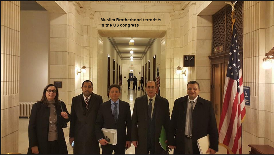 Muslim Brotherhood terrorists in the US Congress Jan 2015