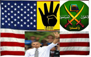 The United States of America and Muslim Brotherhood terrorist organization coalition