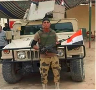 Mohamed Ayman Shaweeka a 20 years old soldier in the Egyptian Army died after hugging a suicide bomber, before blowing himself up with an explosive belt